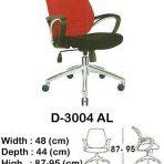 Kursi Kantor (Staff & Sekretaris) Indachi D-3004 AL 2