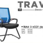 Kursi Kantor Decco TRAVI 3 VCOT