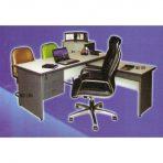 Meja Kantor Daiko MD 160 + MD 100.