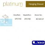 Uno Platinum Series Hanging Drawer UFD 2153, UFD 2163