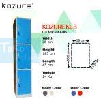 Locker 3 Pintu Kozure KL – 3